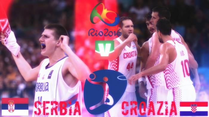 Rio 2016, basket maschile - Più di un semplice derby: Serbia e Croazia si giocano un posto in top four