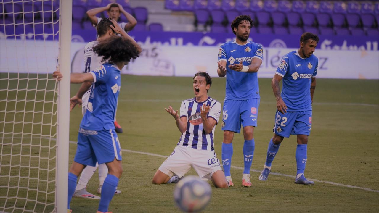 El Real Valladolid suma un punto más hacia la permanencia