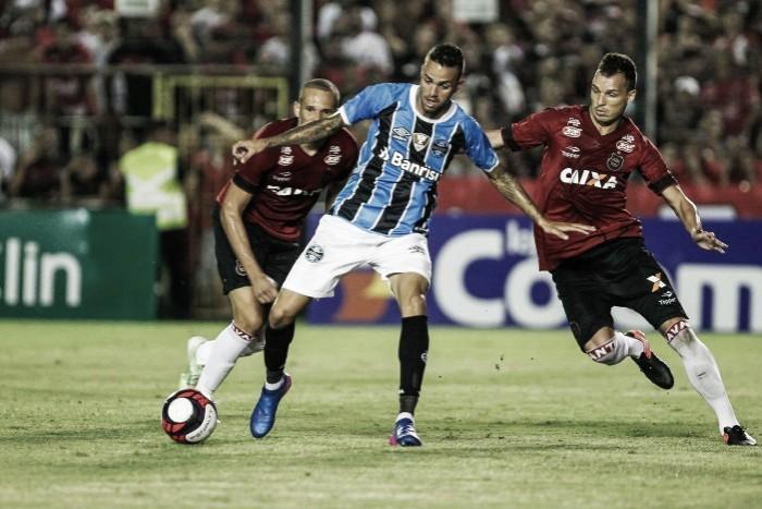 Grêmio recebe Brasil de Pelotas na Arena buscando deixar lanterna do Gauchão