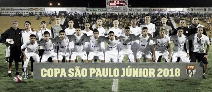 Resultado Figueirense x Santos pela terceira fase da Copa São Paulo de Futebol Júnior (1-3)