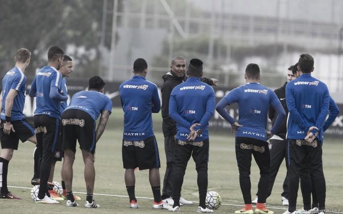 Com Cristóvão no comando, Corinthians se prepara para jogo diante do Atlético-MG