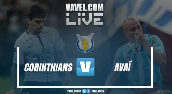 Resultado Corinthians x Avaí no Campeonato Brasileiro 2017 (1-0)