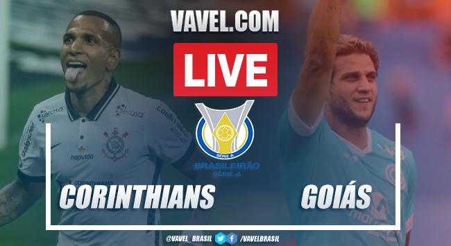 Gols e melhores momentos deCorinthians 2x1 Goiás pelo Campeonato Brasileiro 2020