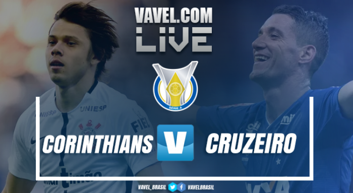 Resultado Cruzeiro 1x1 Corinthians pelo Campeonato Brasileiro 2017