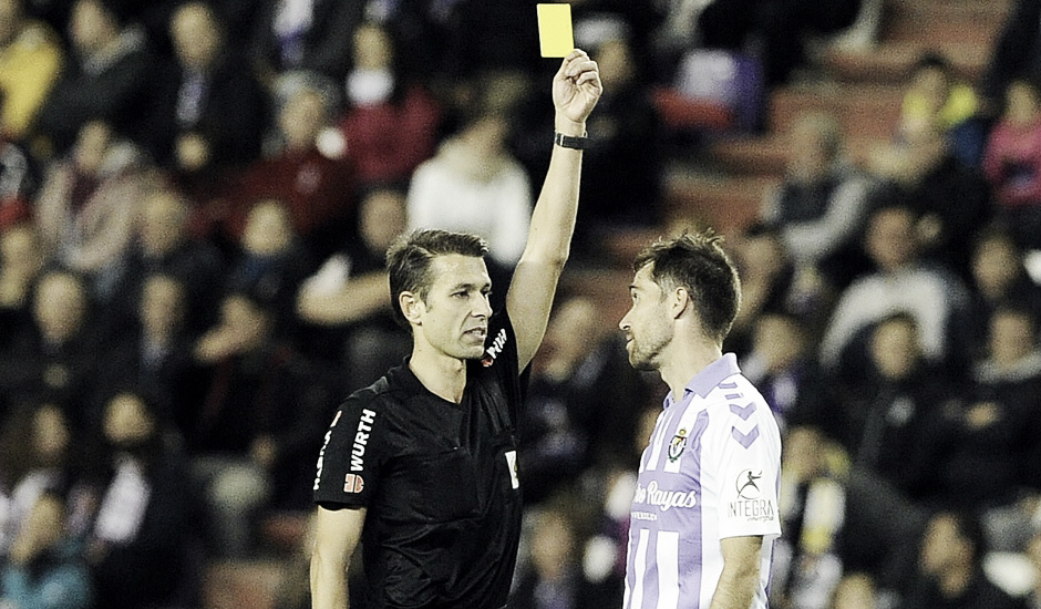 Cordero Vega dirigirá el Real Valladolid - Rayo Vallecano