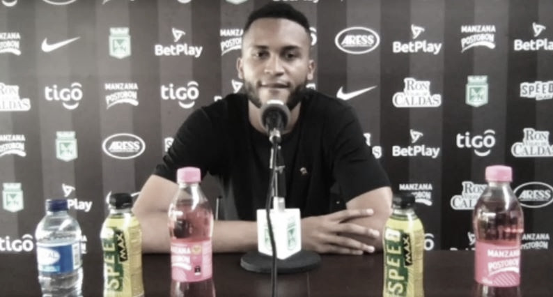 """Brayan Córdoba: """"Todo el plantel está comprometido con los dos torneos"""""""