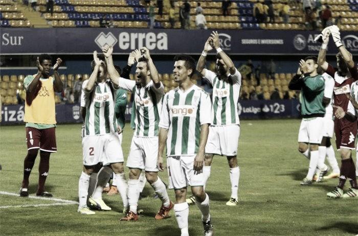 Ojeando al rival: Córdoba CF, confirmando su candidatura