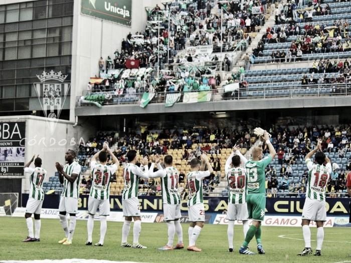 Cádiz CF - Córdoba CF: puntuaciones del Córdoba CF en la tercera ronda de Copa del Rey