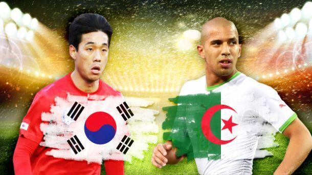 Corea del Sud - Algeria, sfida tra possibili sorprese