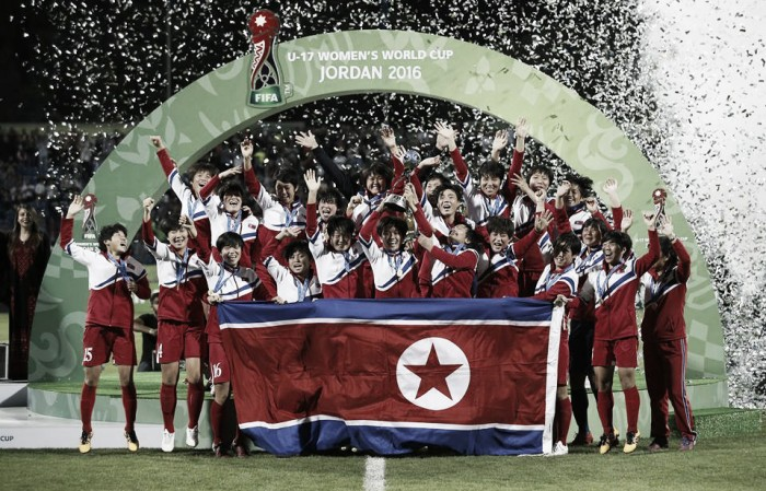 Coreia do Norte derrota Japão nos pênaltis e é campeã da Copa do Mundo Feminina Sub17