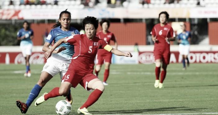 Brasil vacila e perde para Coreia do Norte na Copa do Mundo Feminina Sub20