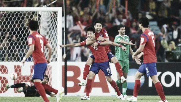 Final da Taça asiática entre Coreia do Sul e Austrália