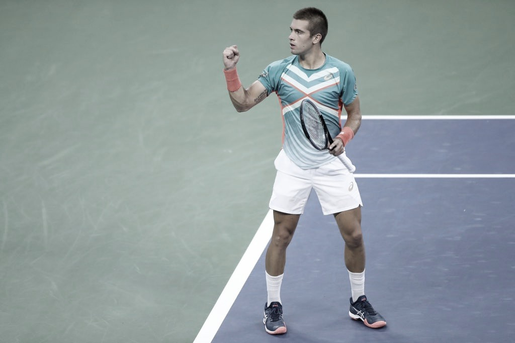 Após batalha contra Tsitsipas, Coric passa por Thompson sem sustos no US Open