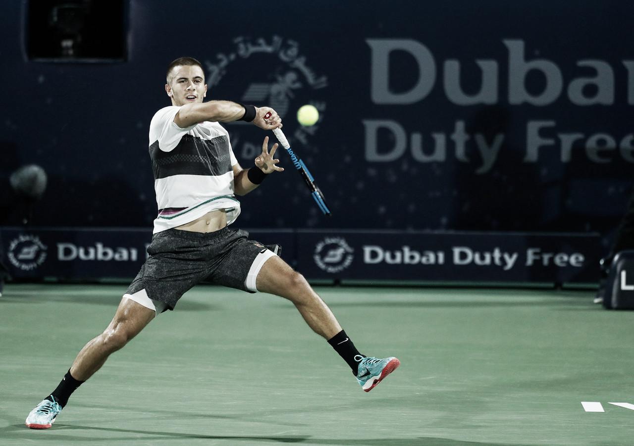 Coric vence Basilashvili em mais uma batalha e vai encarar Federer na semifinal do ATP 500 de Dubai