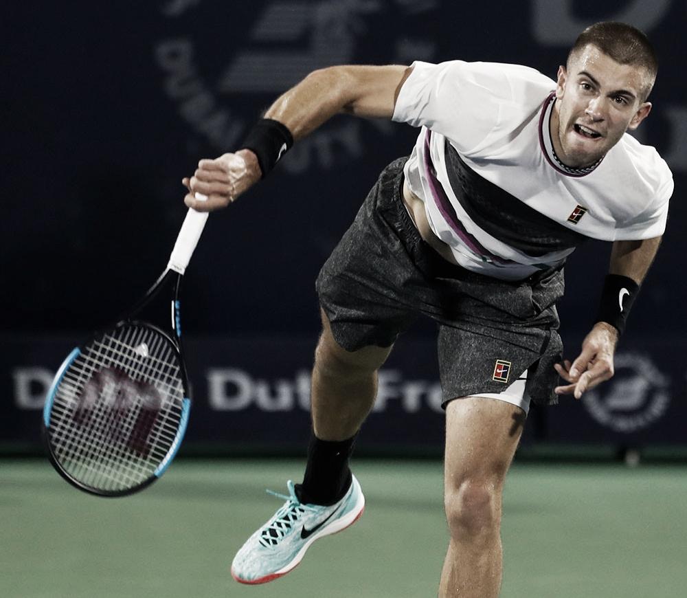 Coric vence batalha contra Berdych e avança às quartas de final do ATP 500 de Dubai