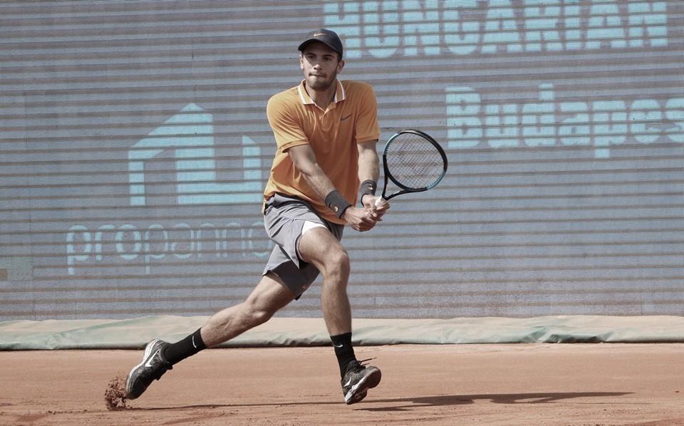 Coric vence mais uma partida de três sets e elimina Haase em Budapeste