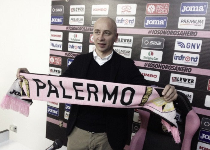 """Palermo, Corini: """"Ripartiamo dal pubblico, al 2017 chiedo la salvezza"""""""