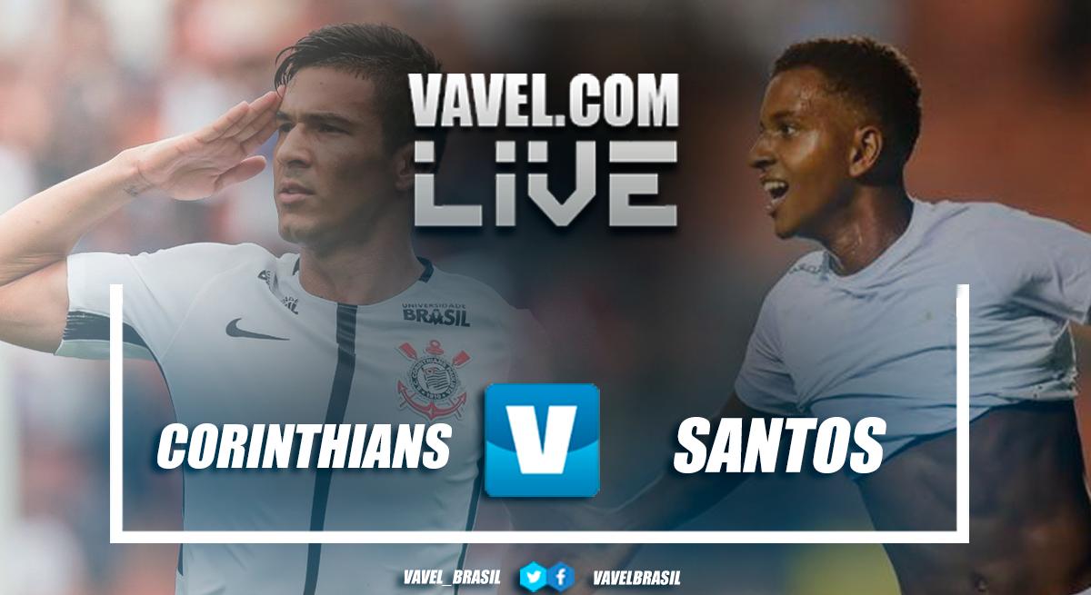Resultado Corinthians x Santos pelo Campeonato Brasileiro 2018 (1-1)