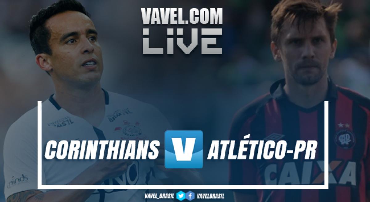 Resultado Corinthians x Atlético-PR pelo Campeonato Brasileiro 2018 (0-0)