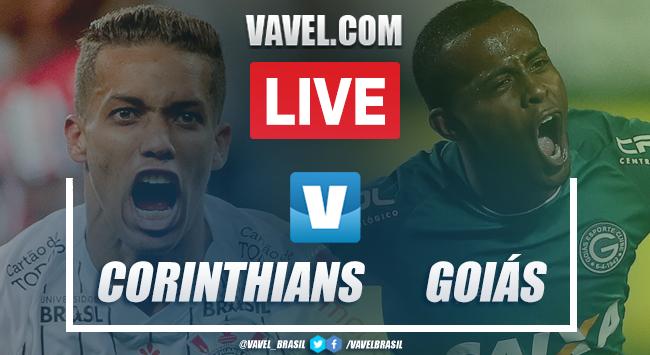 Gols e melhores momentos Corinthians 2x0 Goiás pelo Campeonato Brasileiro