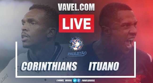 Gols e melhores momentos de Corinthians 2 x 0 Ituano pelo Campeonato Paulista 2021