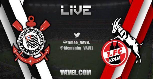Resultado do jogo Corinthians x FC Köln   na Florida Cup 2015