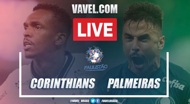 Gols e melhores momentos de Corinthians 2 x 2 Palmeiras pelo Campeonato Paulista