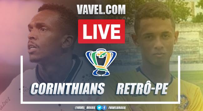 Gols e melhores momentos para Corinthians (5) 1 x 1 (3) Retrô-PE pela Copa do Brasil