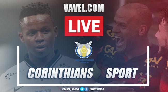 Gols e melhores momentos de Corinthians 3x0 Sport pelo Campeonato Brasileiro