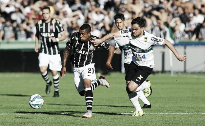 Com novas mudanças na equipe titular, Corinthians recebe o Coritiba em Itaquera