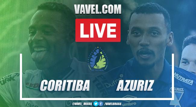 Gols e melhores momentos de Coritiba 1 x 1 Azuriz pelo Campeonato Paranaense