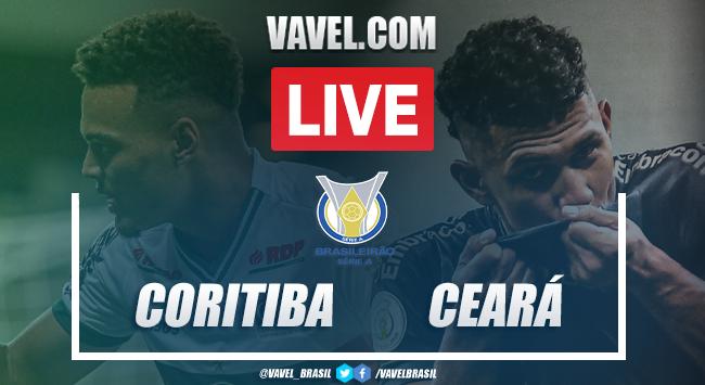 Gols e melhores momentos de Coritiba 0x2 Ceará pelo Campeonato Brasileiro