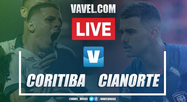 Gols e melhores momentos de Coritiba 2x0 Cianorte pelo Campeonato Paranaense 2020