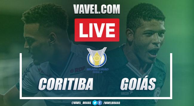 Gols e melhores momentos Coritiba 1x2 Goiás pelo Campeonato Brasileiro