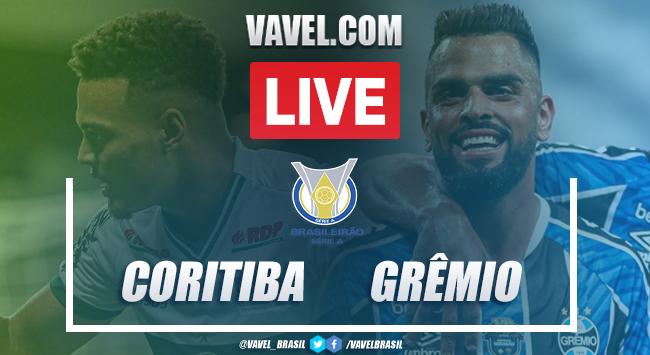 Gols e melhores momentos de Coritiba 1 x 1 Grêmio pelo Campeonato Brasileiro