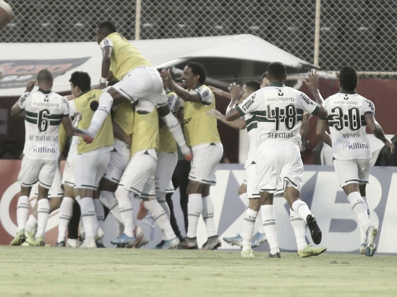 Subiu! Coritiba busca virada contra o Vitória na Bahia e volta à Série A em 2020