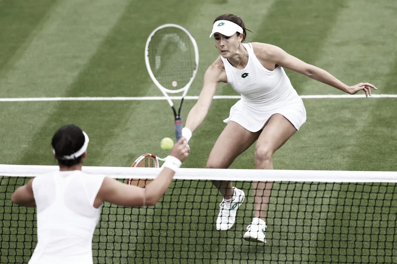 Cornet atropela Andreescu na primeira rodada em Wimbledon; Svitolina avança