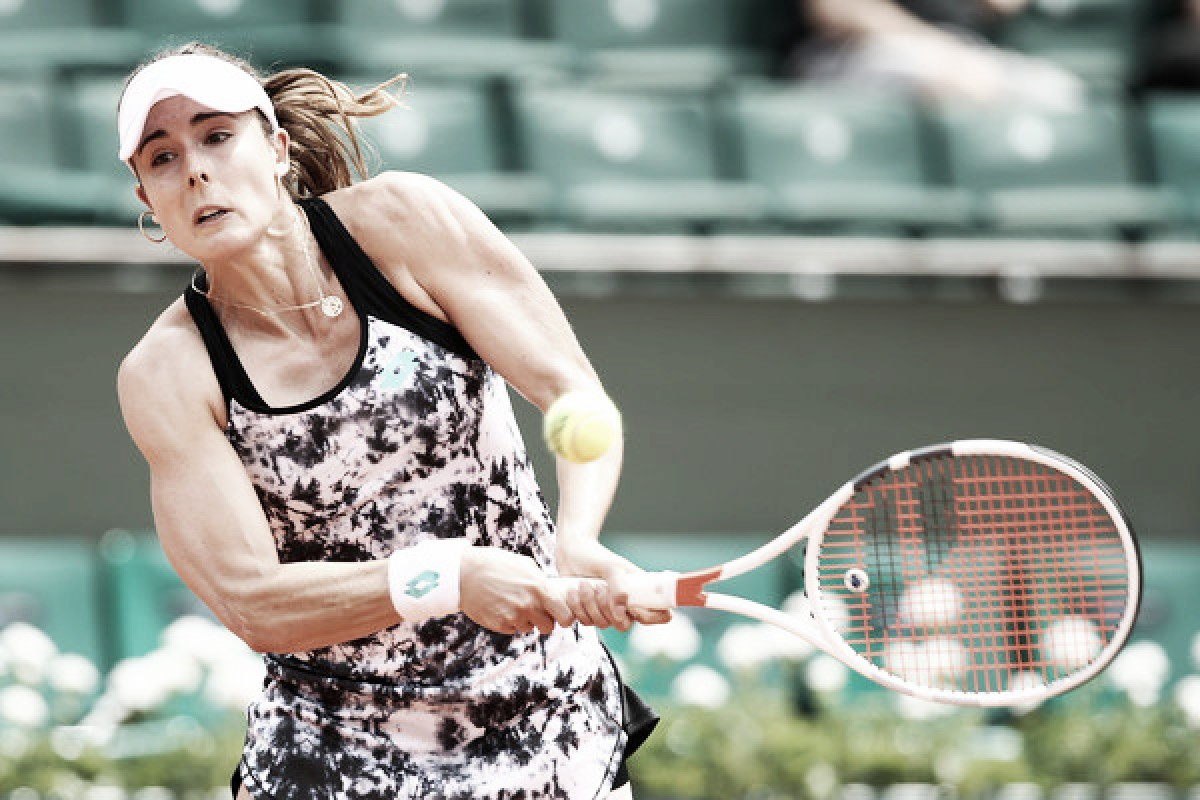 French Open: Alize Cornet sneaks past Sara Errani in thrilling encounter