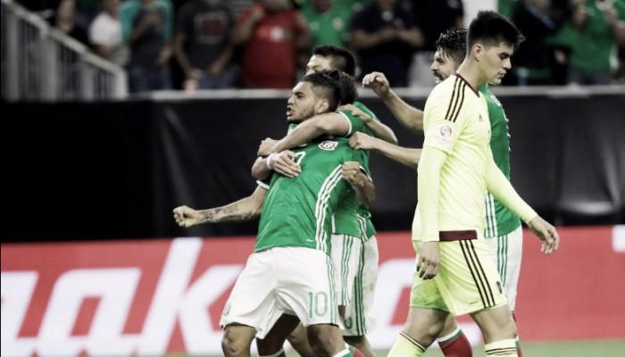 México empata com Venezuela no final e termina líder do Grupo C