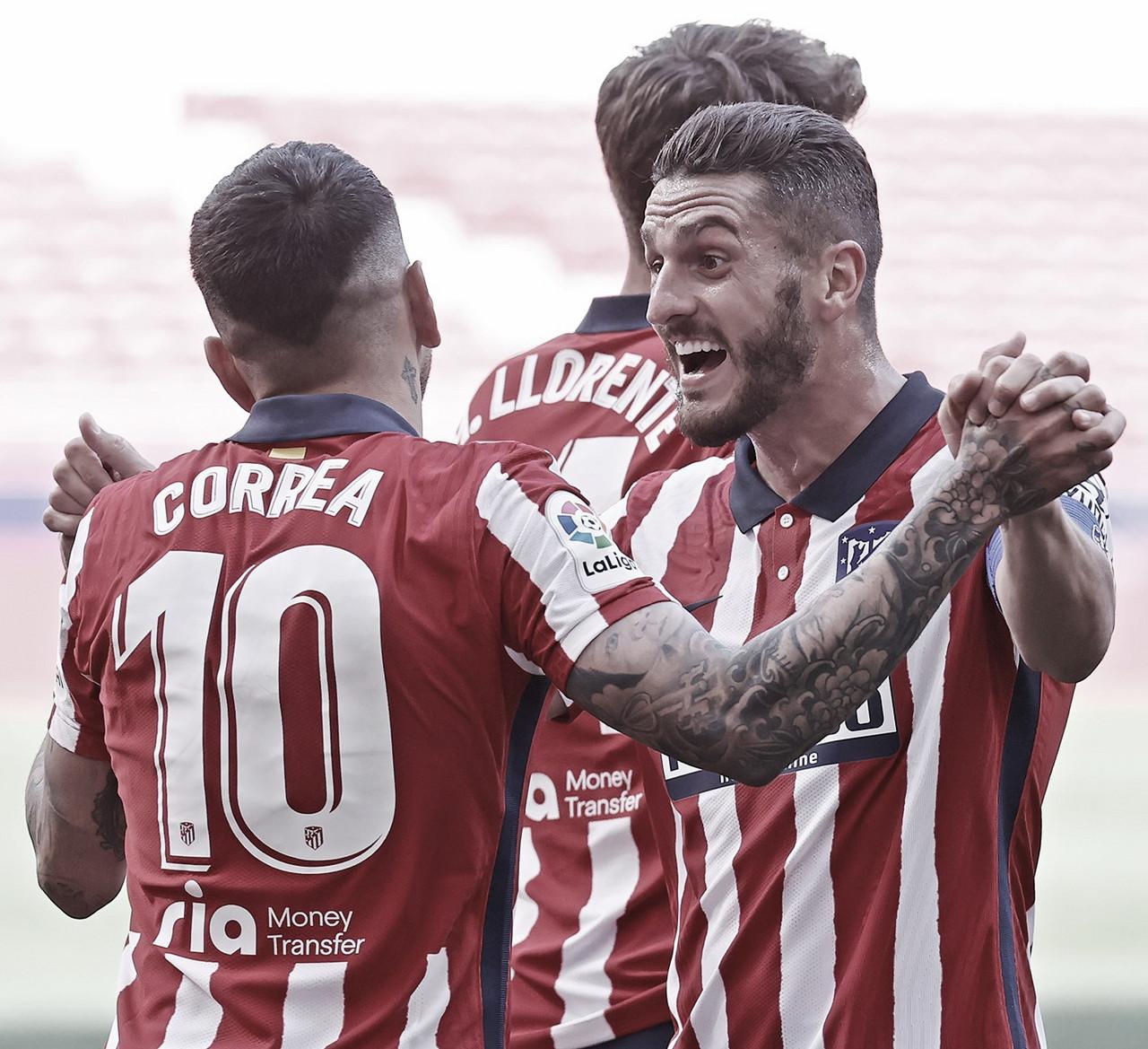 Goleada, reivindicación y subidón anímico para el Atlético