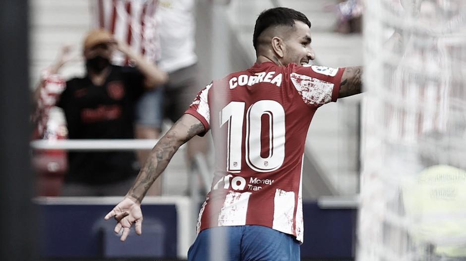 Cirúrgico, Atlético de Madrid mantém 100% em LaLiga com mais um gol de Correa e falha do goleiro