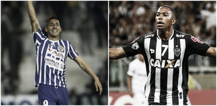 Cara a cara: Javier Correa vs Robinho