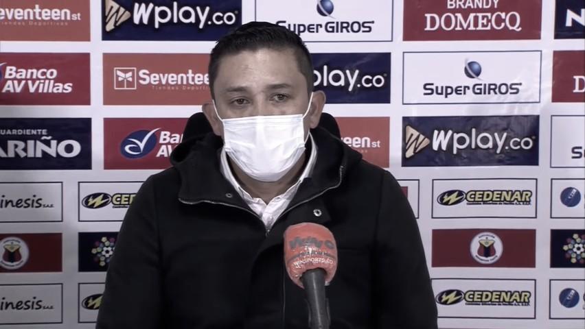"""Diego Corredor: """"El objetivo era irnos con ventaja a Bogotá"""""""