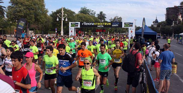 Cáceres y Checa vencen en la primera cita del Rexona Street Run