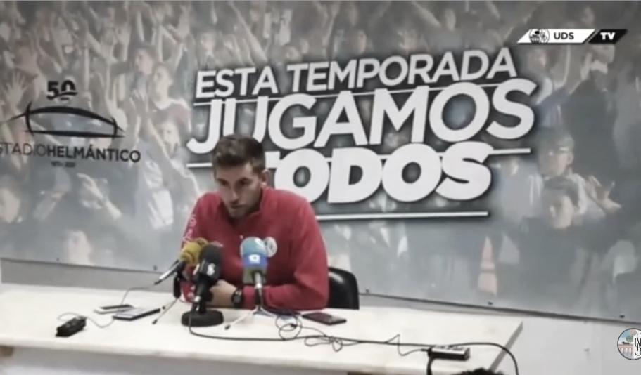 """Pablo Cortés: """"Va a ser un partido muy complicado, son muy fuertes en casa"""""""