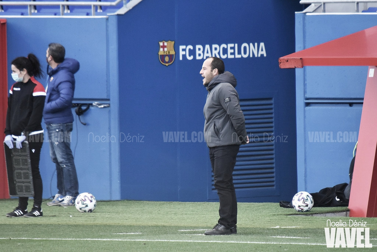 """Lluís Cortés: """"La valoración es muy positiva, no solamente por los triunfos conseguidos sino también por la actitud de todas las jugadoras"""""""