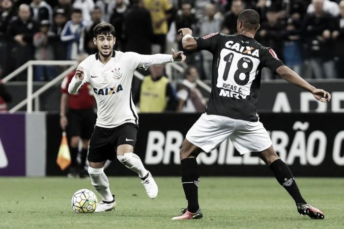 Corinthians pressiona, mas não sai de um empate sem gols contra o Atlético-MG
