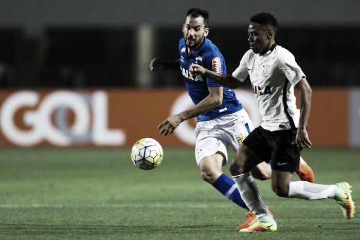Corinthians e Cruzeiro medem forças nos primeiros 90 minutos das quartas da Copa do Brasil