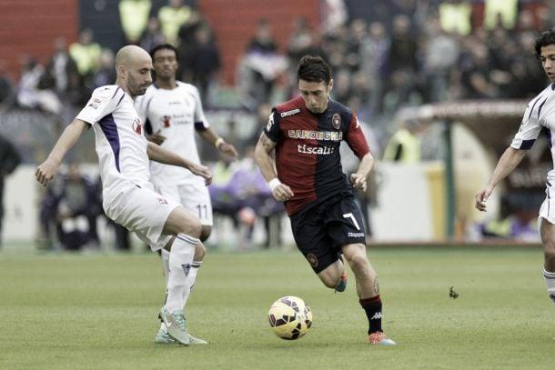 Risultato Fiorentina 1-3 Cagliari in Serie A 2015