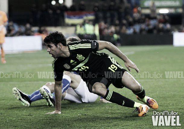 """Diego Costa: """"Me ha molestadono devolver todo el cariño que me han dado"""""""